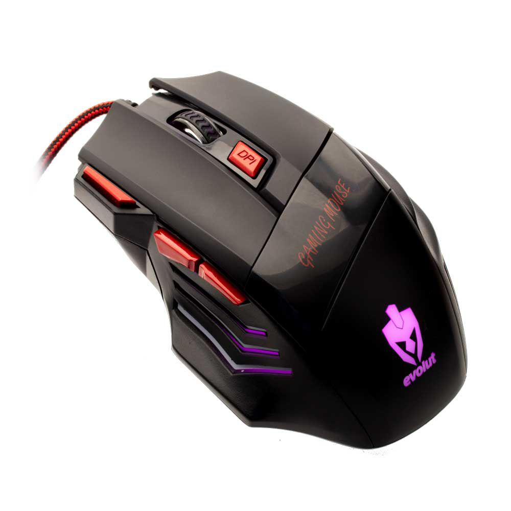 Mouse Gamer Evolut EG-101 1600 DPI 07 Botões