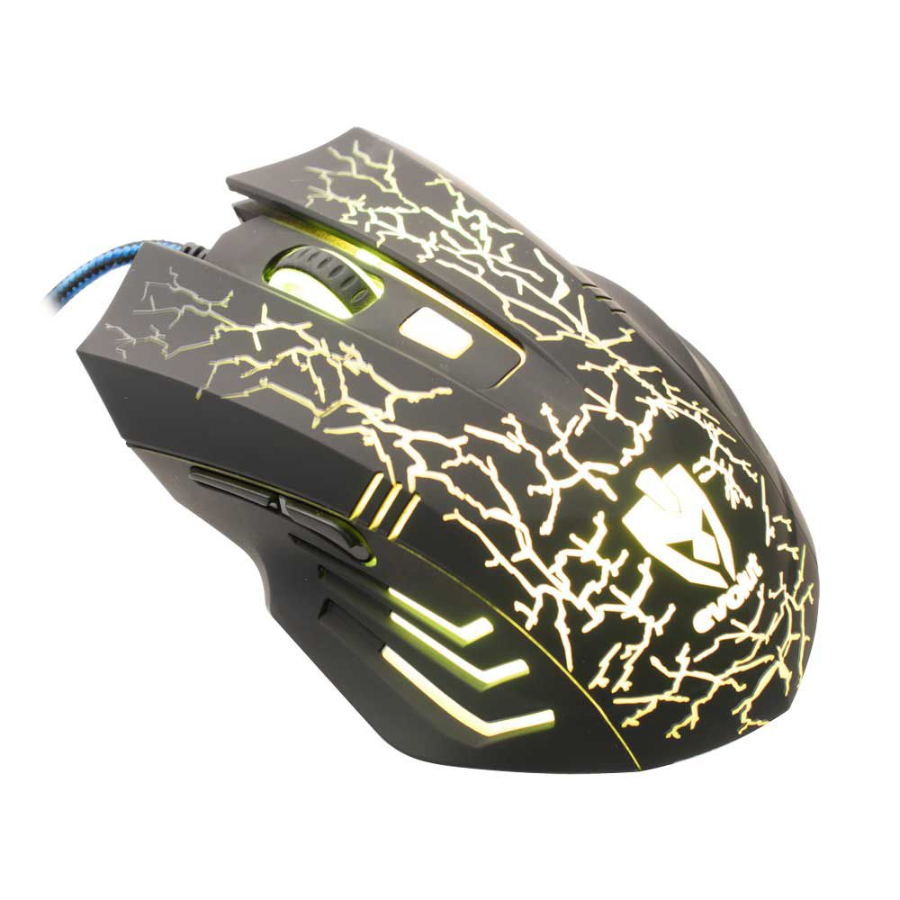 Mouse Gamer Evolut EG-102 2400 DPI 7 cores