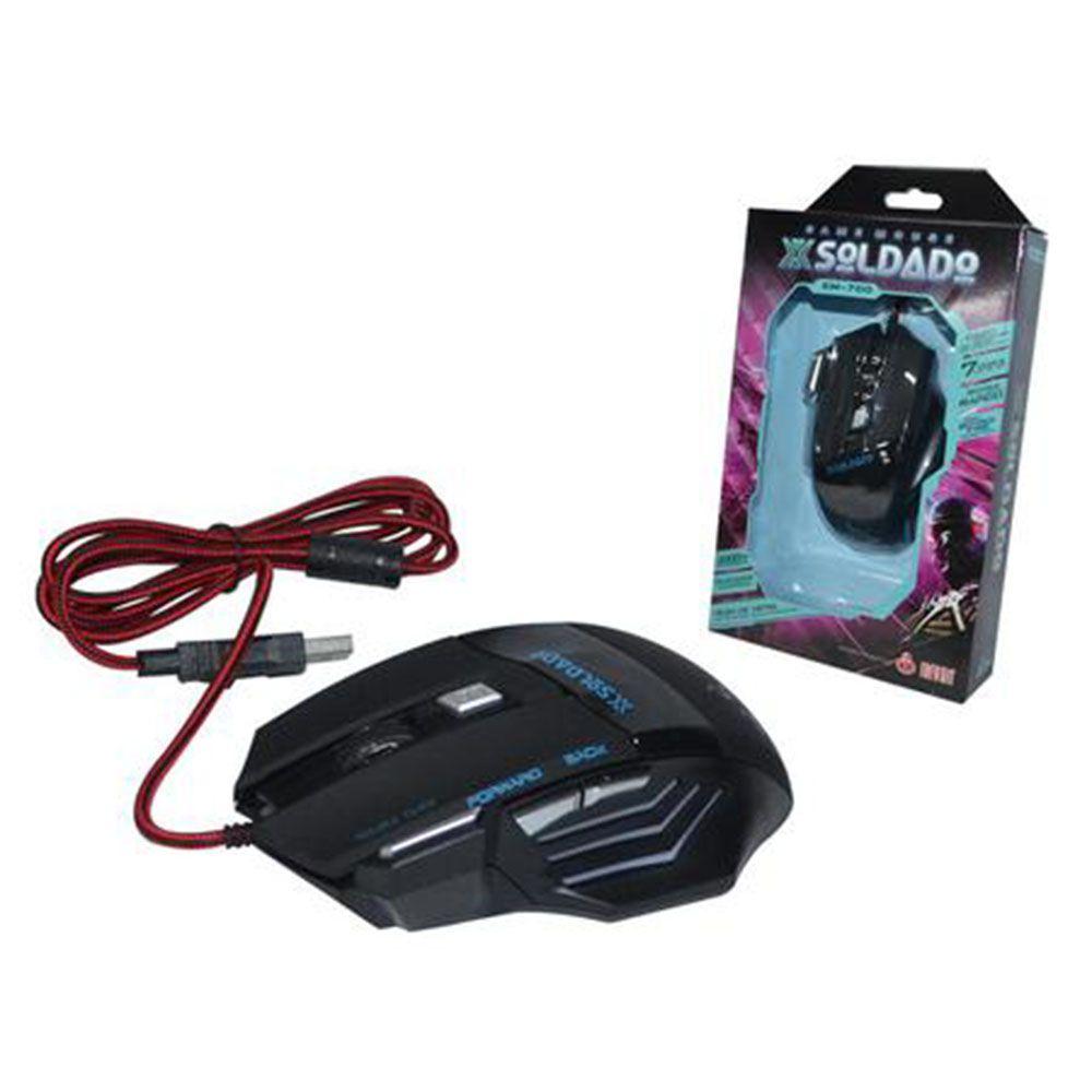 Mouse Gamer Infokit X-Soldado Usb Gm-700