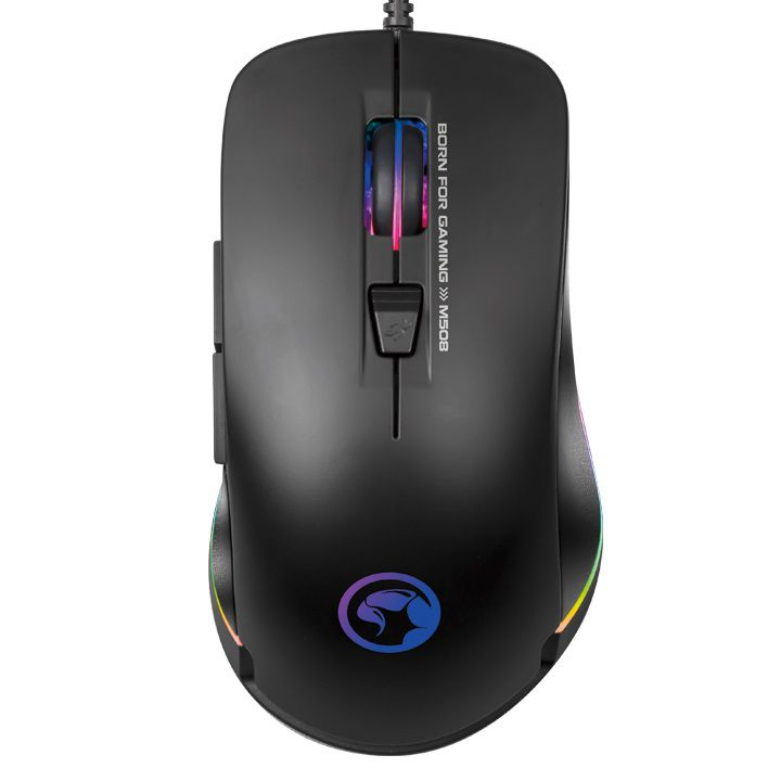 Mouse Gamer Marvo M508 3200 DPI 6 botões