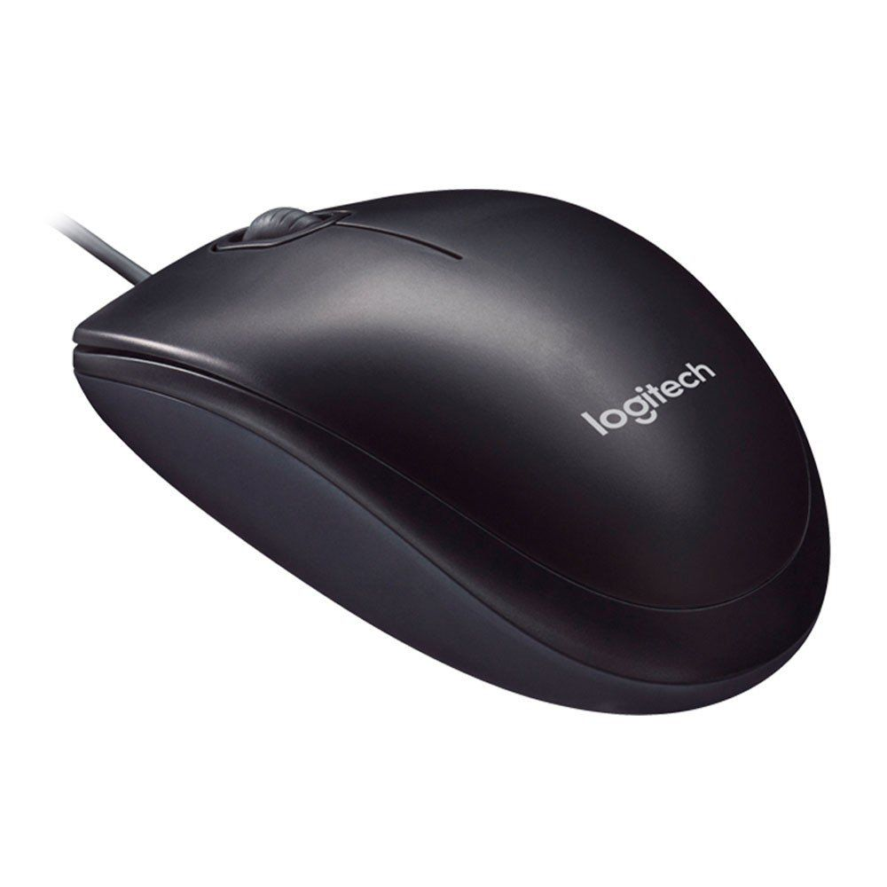 Mouse Logitech Optico Usb Preto M90