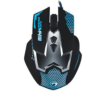 Mouse Marvo Gaming Scorpion Azul M418