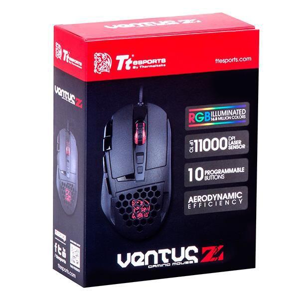 Mouse TT Esports Ventus Z Laser MO-VEZ-WDLOBK-01