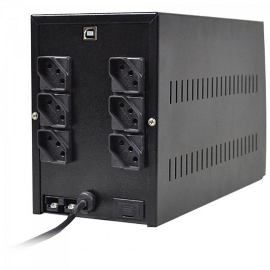 Nobreak 1400VA Power Ups 5A 2BS2BA Preto TS SHARA