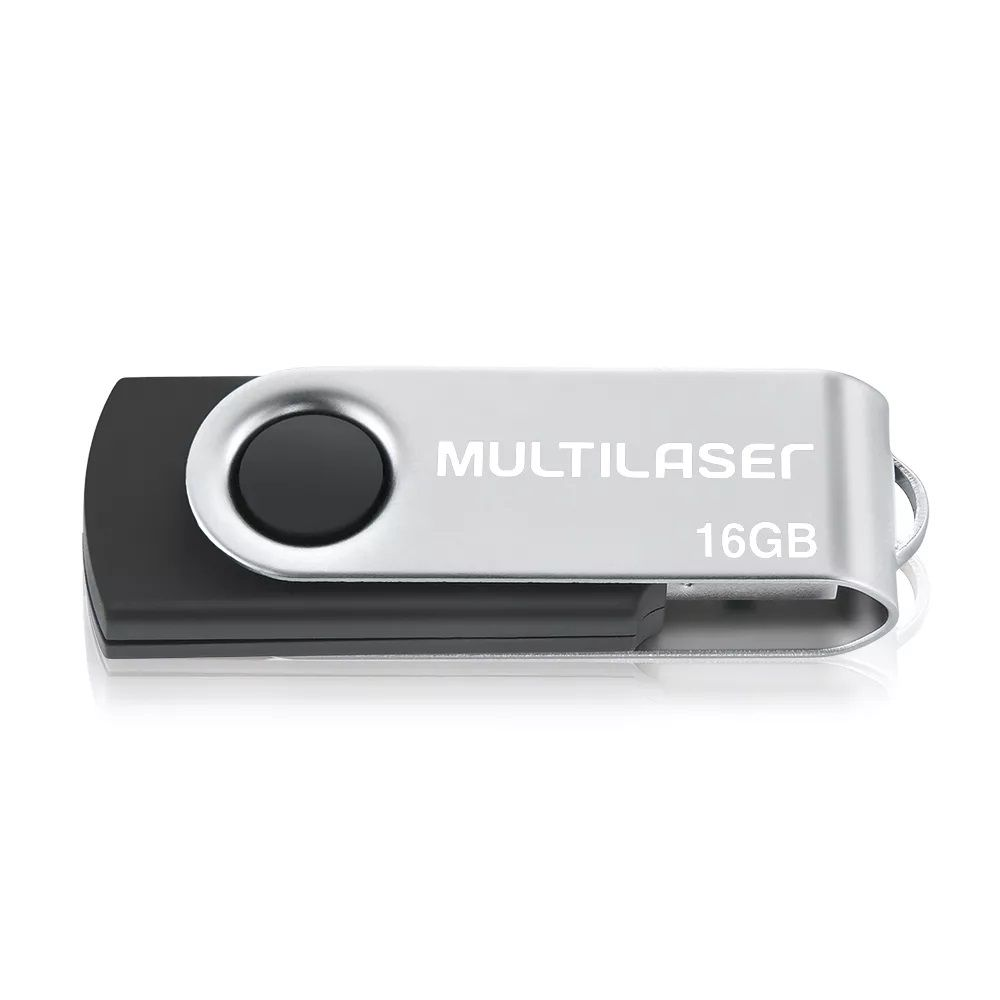 Pen Drive Multilaser 16GB Twist USB 2.0 PD588