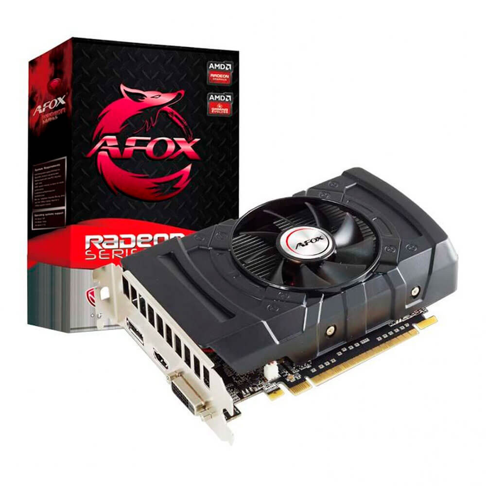 Placa de Video AFOX Radeon RX 550 2GB GDDR5 128bits D5H4