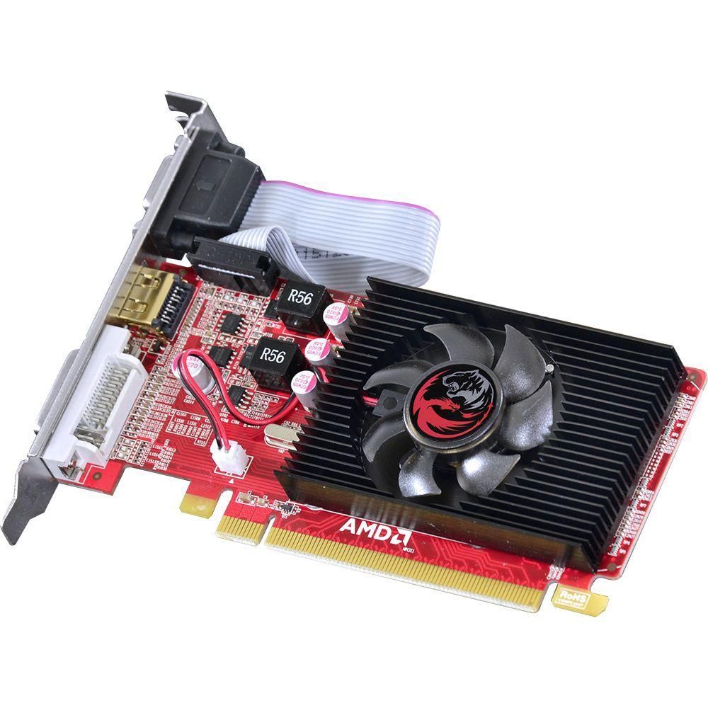 Placa De Video AMD Radeon PcYes HD 5450 Low Profile 1GB DDR3 64bits