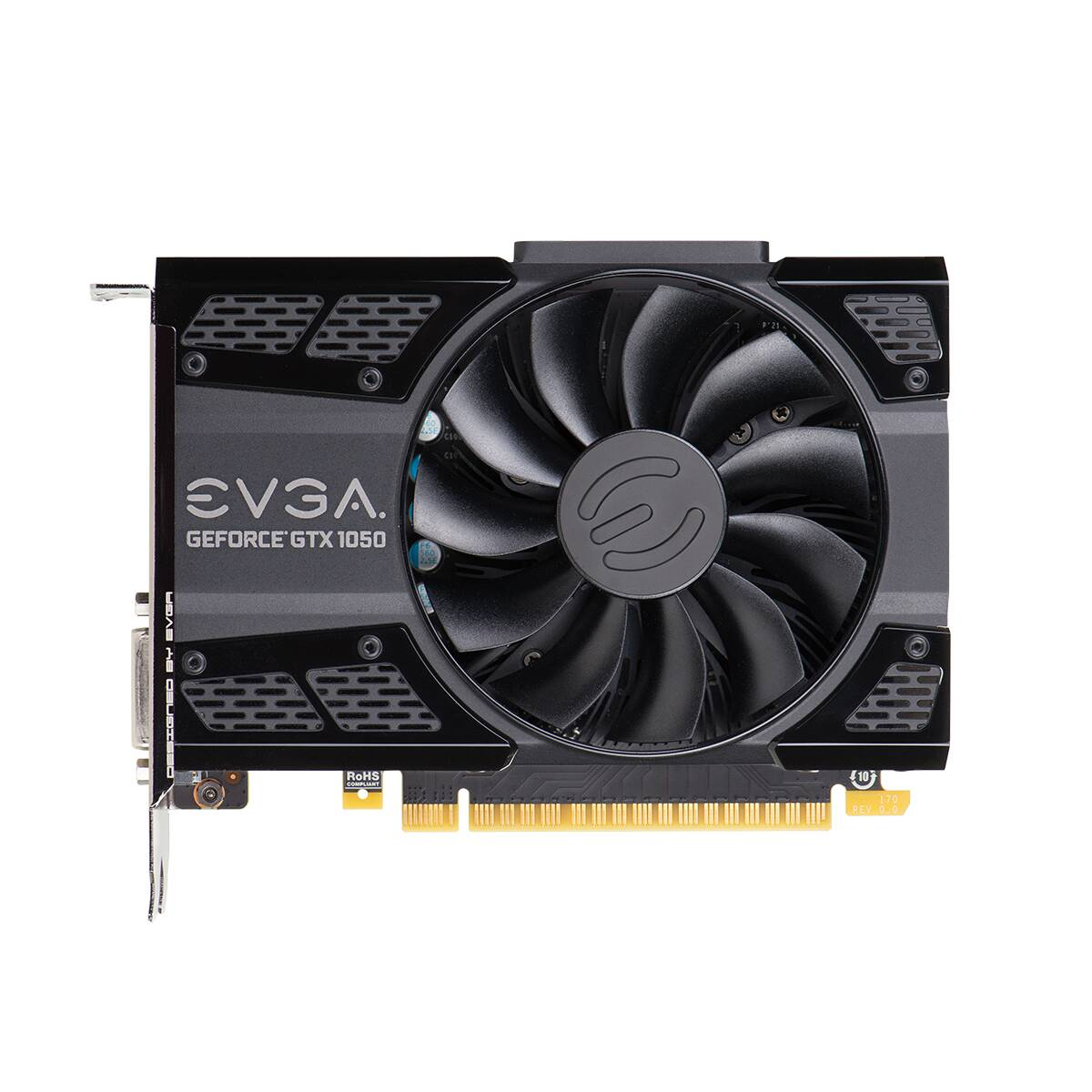 Placa de Video EVGA Nvidia Geforce GTX 1050 2GB 128BITS ACX DDR5 02G-P4-6150-KR