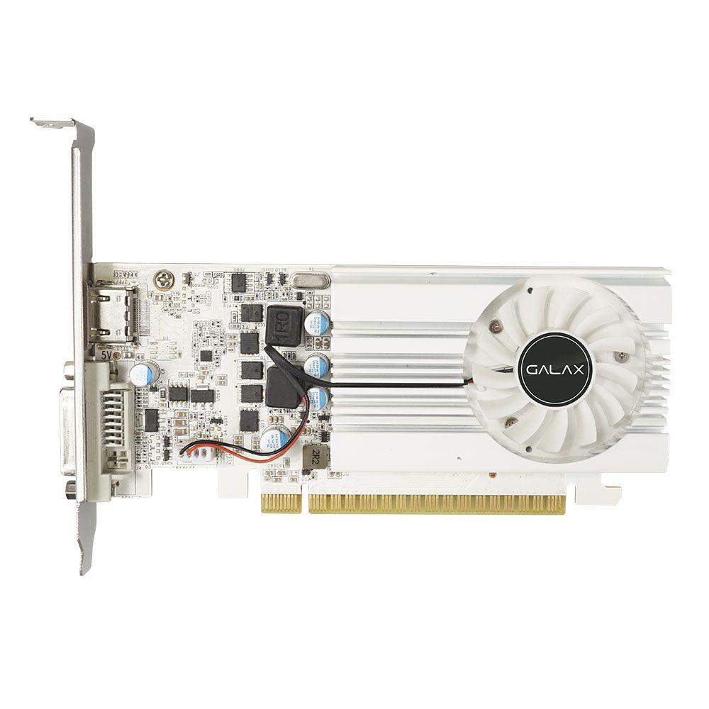 Placa de Video GALAX GeForce® GT 1030 EX Branco 2GB SDDR4 de 64 bits HDMI