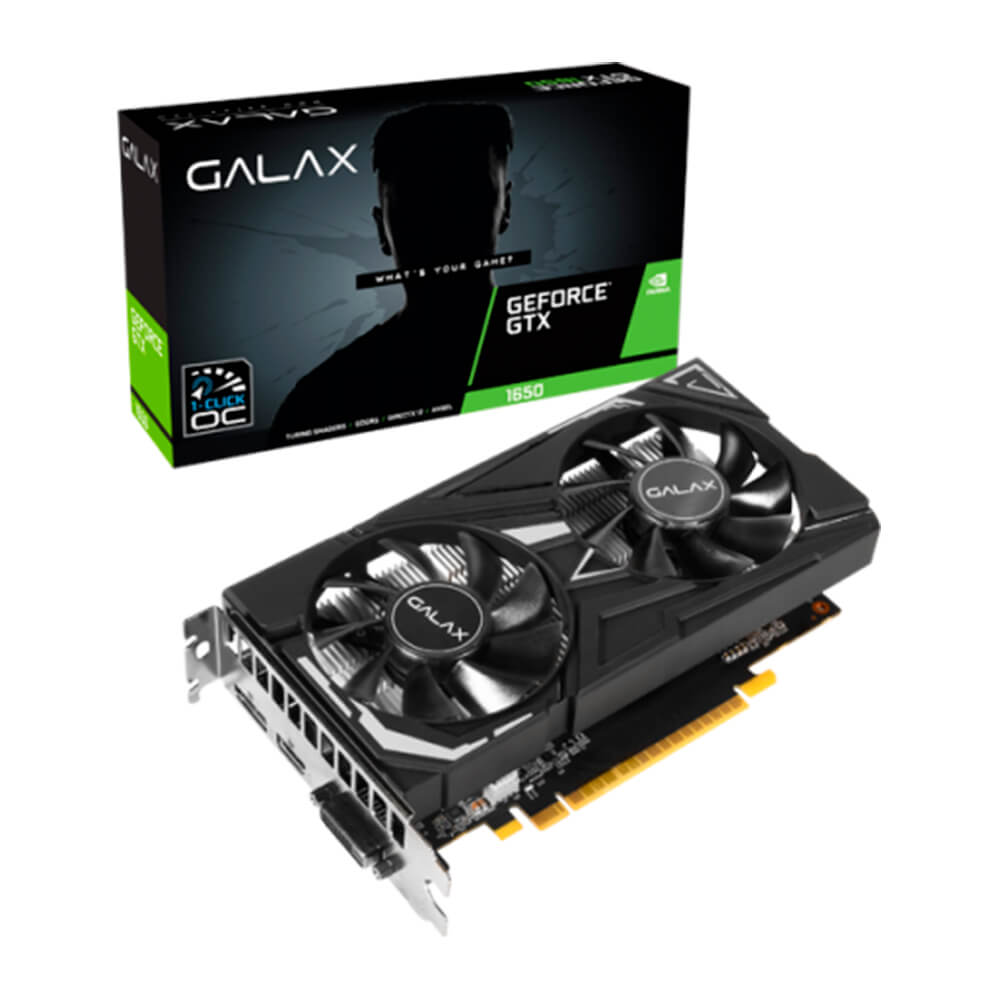 Placa de Video Galax NVidia GTX1650 GDDR6 4GB 128bits Ex