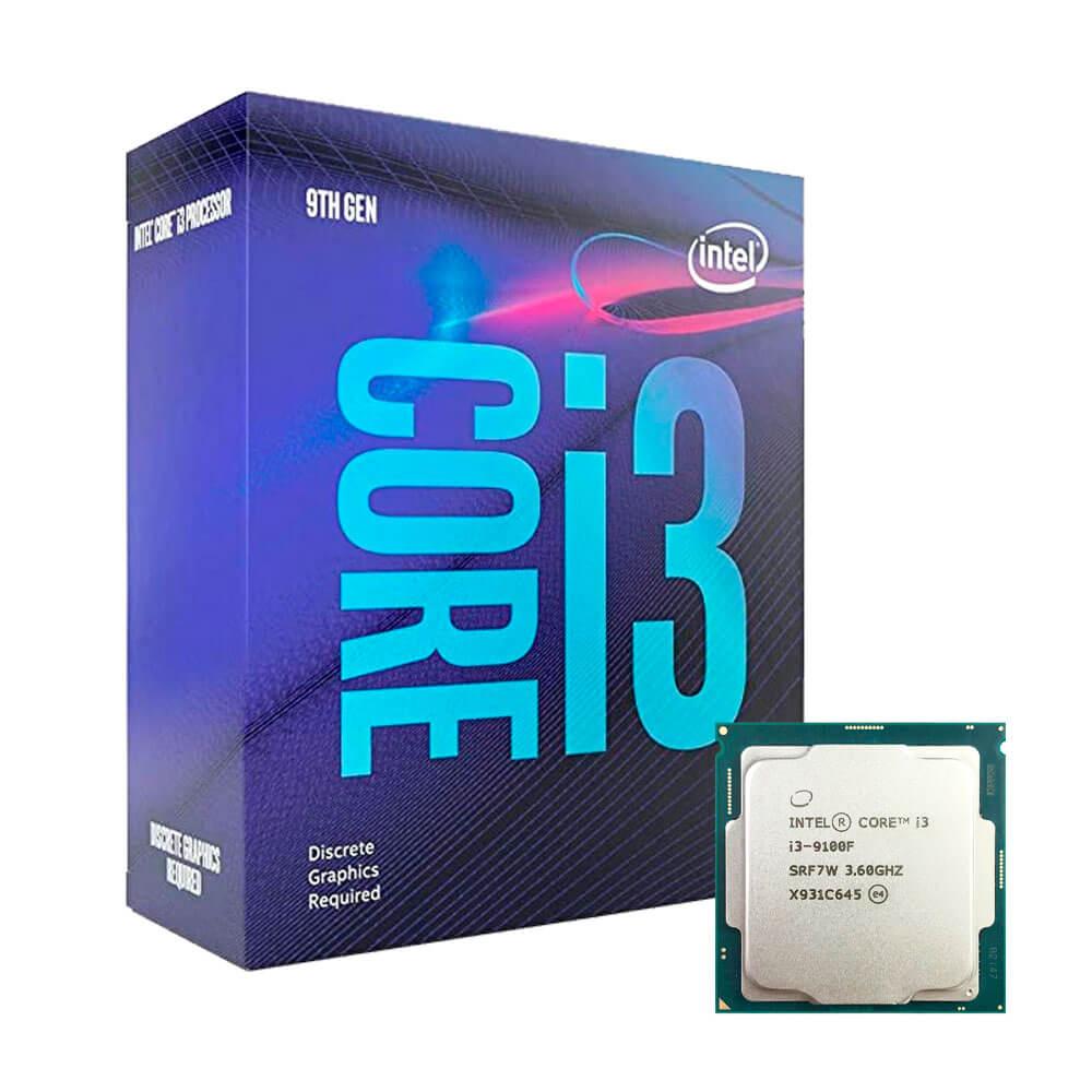 Processador Intel Core i3-9100F 3.60Ghz 6MB BX80684I39100F