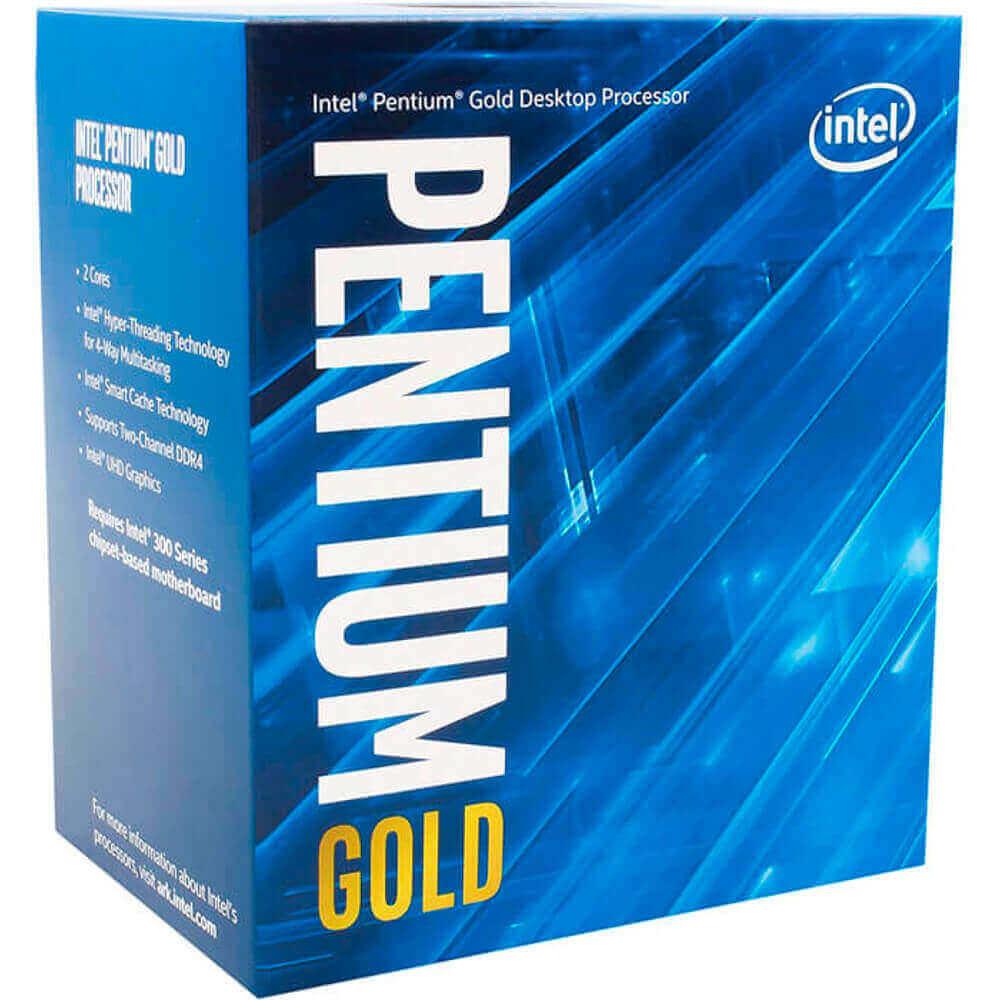 Processador Intel Pentium gold 3.7Ghz box 4MB G5400