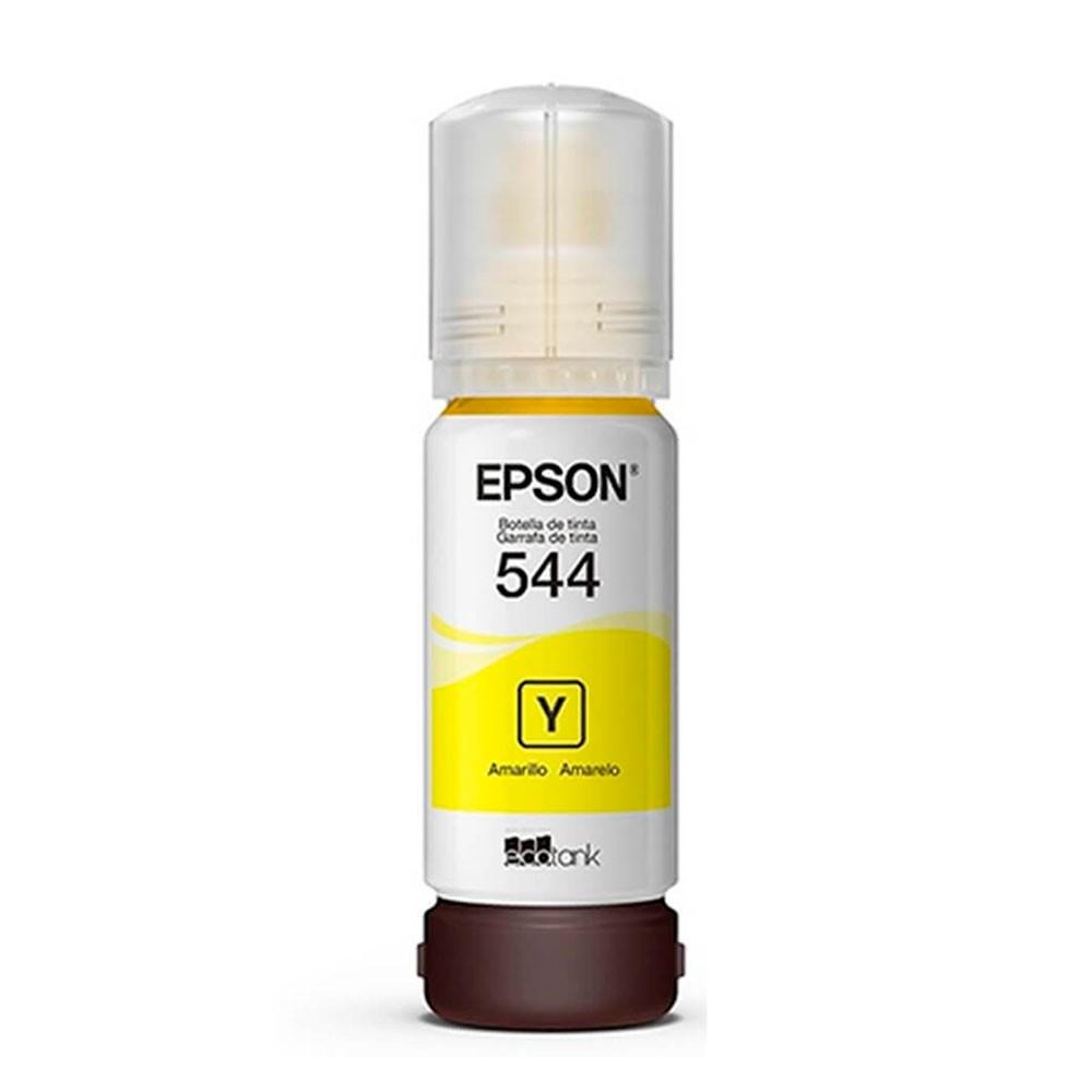 Refil de Tinta Epson 544 Amarelo T544420-AL 65ml