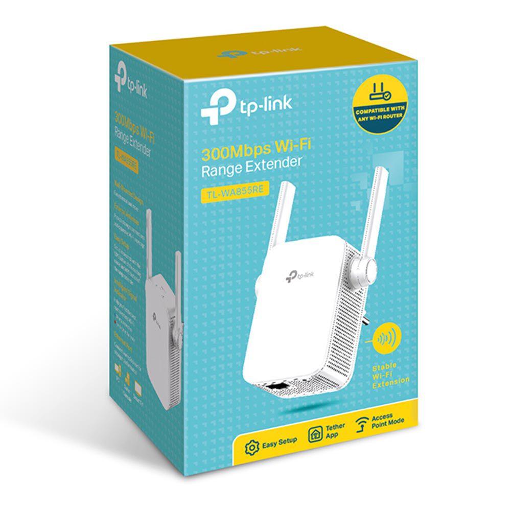 Repetidor Tp-Link 300Mbps TL-WA855RE 2 Antenas