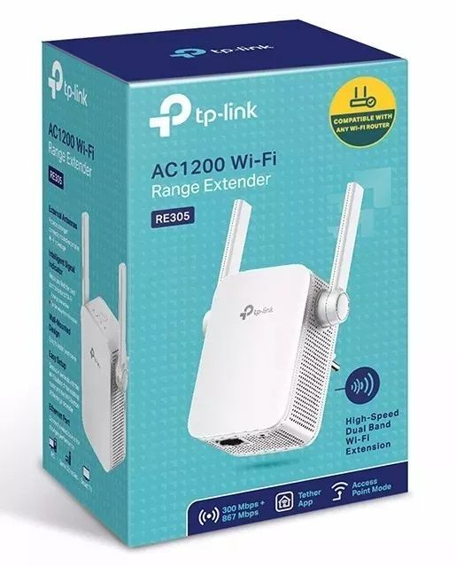 Repetidor WI-FI TP-LINK RE305 AC1200 Dual Band 2,4/5GHZ