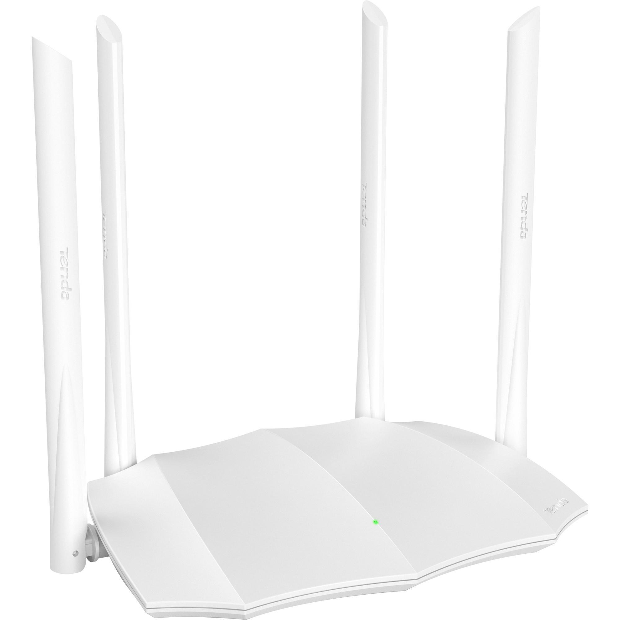 Roteador Wireless 1200Mbps Dual Band AC5V3 Branco TENDA