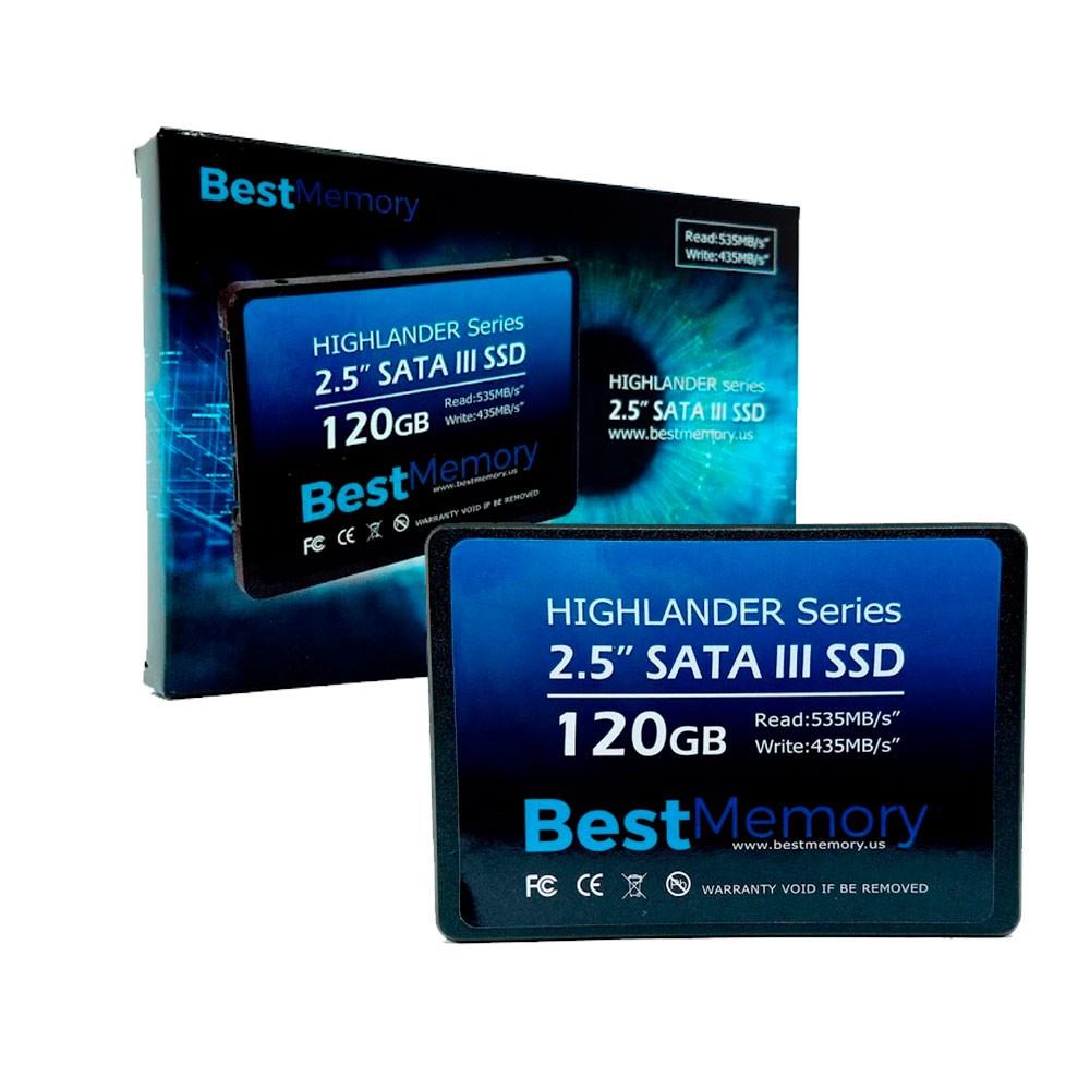 "SSD BestMemory 120gb Highlander Sata III 2,5"" BTSDA-120G-535"