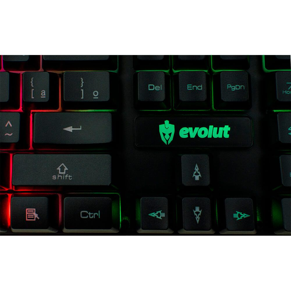 Teclado Gamer Evolut Hawke EG206 USB