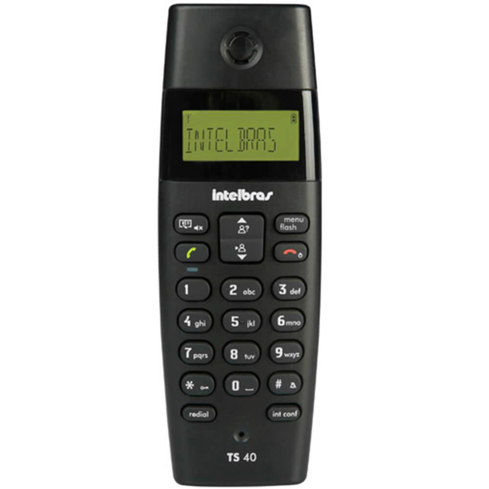 Telefone Intelbras Sem Fio TS 40 ID