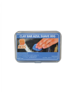 Clay Bar Azul Suave Kers 80G