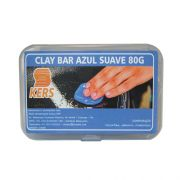 Clay Bar Azul Suave Kers  80GR