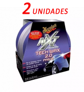 Kit C/ 2 Cera Nxt Tech Wax 2.0 Meguiars Pasta Roxa G12711
