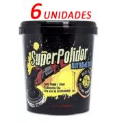 Kit Com 6 Massa Super Polidor 1kg - Autoamerica
