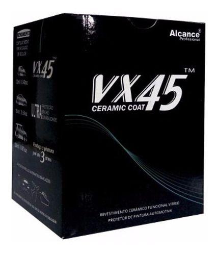 Vitrificador Automotivo Vx45 Proteção 3 Anos 100ml - Alcance