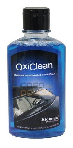 Removedor De Chuva Ácida De Vidros Oxi Clean Alcance 200ml