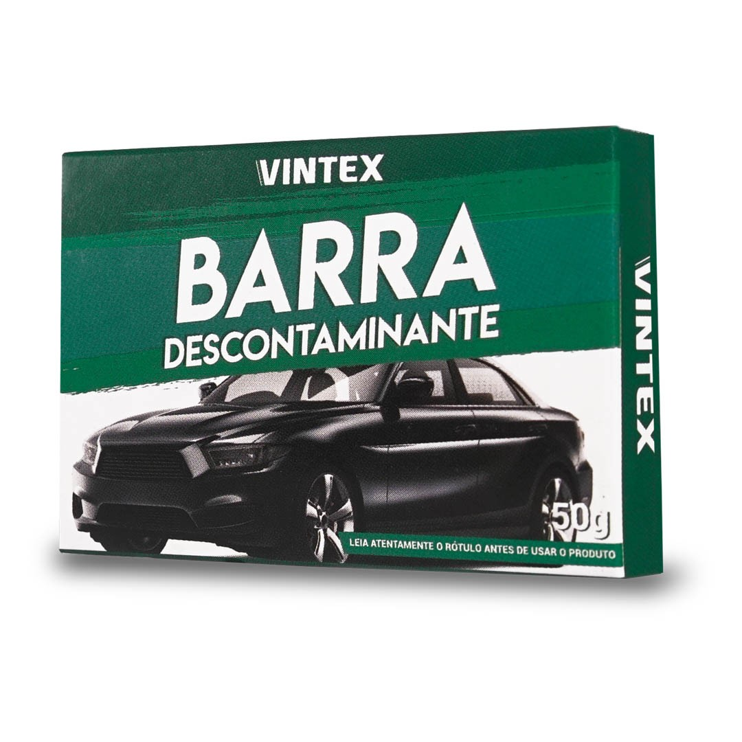 BARRA DESCONTAMINANTE CLAY BAR VINTEX 50G