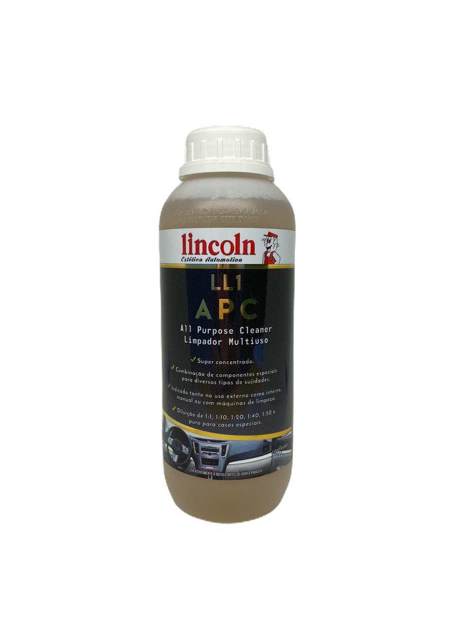 Limpador Multiuso Ll1 Apc Lincoln 1 Litro