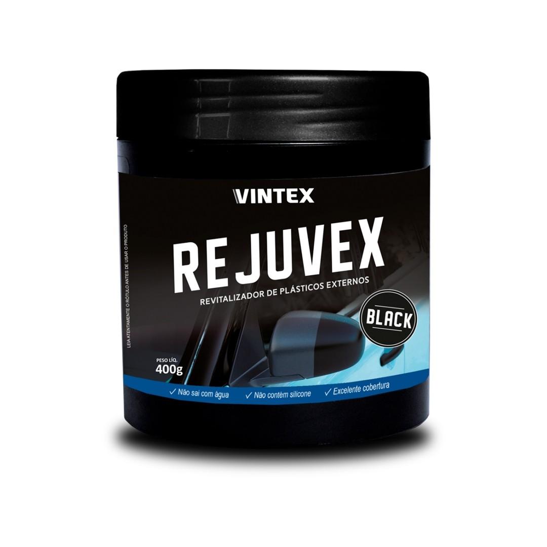 REVITALIZADOR DE PLÁSTICO REJUVEX BLACK VINTEX 400GR