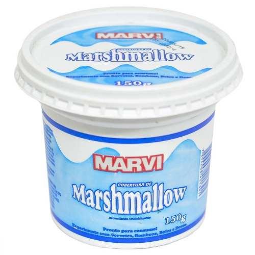 Cobertura de Marshmallow Marvi 150g