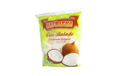 Coco Ralado Integral Fitas Haibiska 500g
