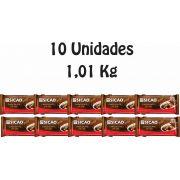 10 Unidades De Chocolate Sicao Gold Ao Leite 1,01kg