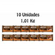10 Unidades De Chocolate Sicao Gold Blend Ao Leite com Meio Amargo 1,01kg