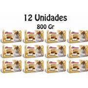 12 Unidades De Pasta Americana Tradicional Arcolor 800g