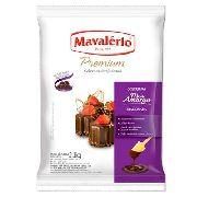Cobertura Mavalério Premium Meio Amargo Fracionada 1,01kg