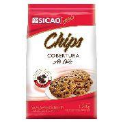 Cobertura Sicao Chips Ao Leite 1,01kg