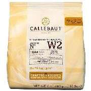 Chocolate em Gotas Branco W2 28% Cacau 400g - Callebaut