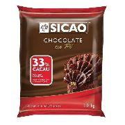 Chocolate em Pó Sicao 33% 1,01kg