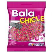 Bala Chicle Sabor Tutti Frutti 500g - Florestal