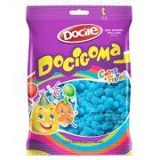 Bala De Goma Docigoma Mini Sino Azul 500g - Docile