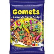 Bala de Goma Gomets Anel Frutas Ácidas 600g - Dori