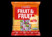 Bala Mastigável Fruit&Fruit 600g - Peccin