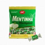 Bala Mastigável Mentinha 600g - Erlan