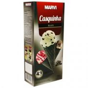 Casquinha P/ Sorvete Black 138g - Marvi
