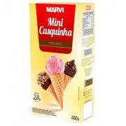 Mini Casquinha P/ Sorvete Crocante 450g - Marvi
