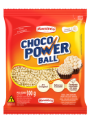 Choco Power Ball Micro Sabor Chocolate Branco 300g - Mavalério