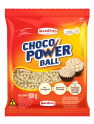 Choco Power Ball Mini Sabor Chocolate Branco 300g - Mavalério